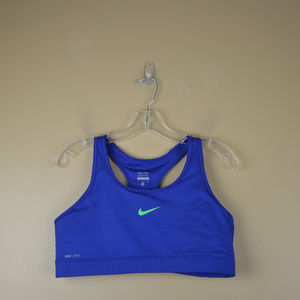 Nike PRO Women's Blue Dri-Fit Pro Sports Bra